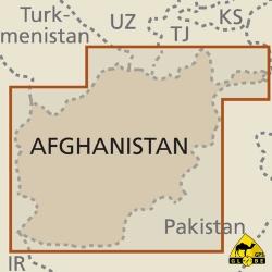 Afghanistan - Touristische Karte - 1 : 1 000 000