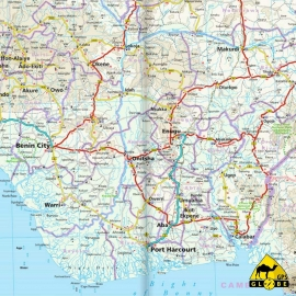 Westafrika (Küstenländer) - Touristische Karte - 1 : 2 200 000