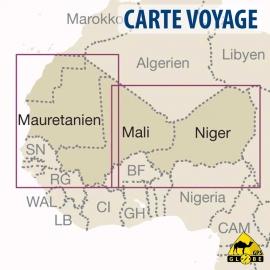 Westafrika - Touristische Karte - 1 : 2 200 000