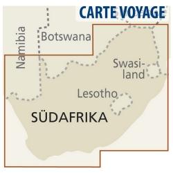 Süd-Afrika - Touristische Karte - 1 : 1 400 000
