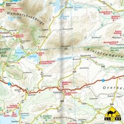 Südafrika (Region Kapstadt) - Touristische Karte - 1 : 500 000