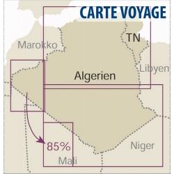 Algerien / Tunesien - Touristische Karte - 1 : 1 700 000