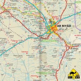 Saudi-Arabien - Touristische Karte - 1 : 1 800 000