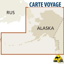 USA (Alaska) - Touristische Karte - 1 : 2 000 000