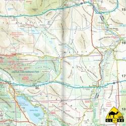 USA (Kalifornien) - Touristische Karte - 1 : 850 000