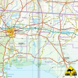 USA (Florida) - Touristische Karte - 1 : 500 000