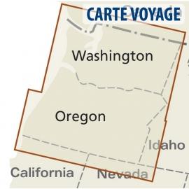 USA (Nord-West) - Touristische Karte - 1 : 750 000