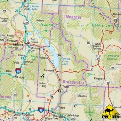 USA (Nord) - Touristische Karte - 1 : 1 250 000