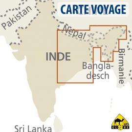 India (Nord-Ost) - Touristische Karte - 1 : 1 300 000