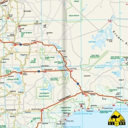 Australie (West) - Touristische Karte - 1 : 1 800 000