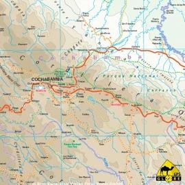 Bolivien - Touristische Karte - 1 : 1 300 000