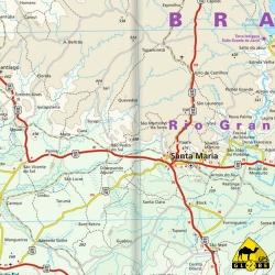 Brasilien (Süd) - Touristische Karte - 1 : 1 200 000