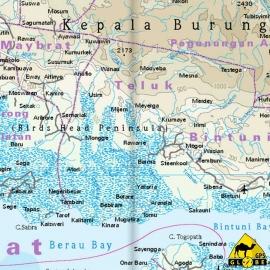 Papua / Neuguinea - Touristische Karte - 1 : 2 000 000