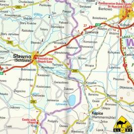 Polen (Nord) - Touristische Karte - 1 : 350 000