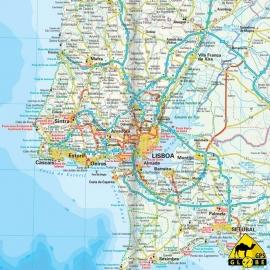 Portugal - Touristische Karte - 1 : 350 000