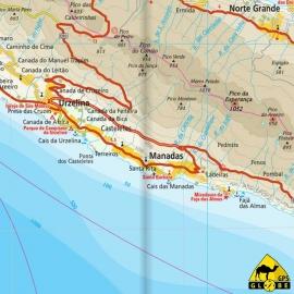 Azoren-Inseln (Portugal) - Touristische Karte - 1 : 70 000