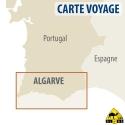 Algarve (Portugal) - Touristische Karte - 1 : 100 000