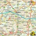 Vereinigtes Königreich - Touristische Karte - 1 : 750 000