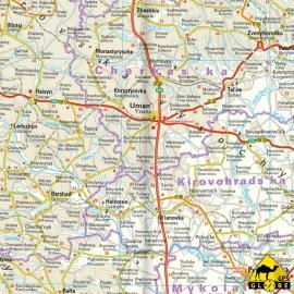 Ukraine - Touristische Karte - 1 : 1 000 000