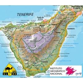 Kanarische Inseln (Spanien) - Touristische Karte - 1 : 200 000