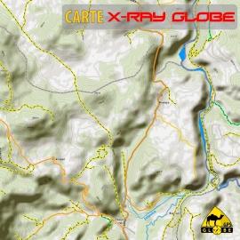 Kroatien - X-Ray Globe - 1 : 30 000 TOPO