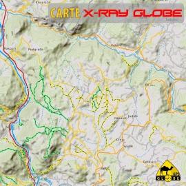 Montenegro - X-Ray Globe - 1 : 30 000 TOPO
