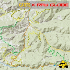 Serbien - X-Ray Globe - 1 : 30 000 TOPO