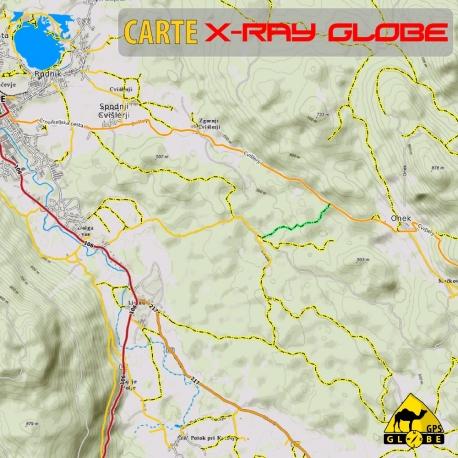Slovenien - X-Ray Globe - 1 : 30 000 TOPO