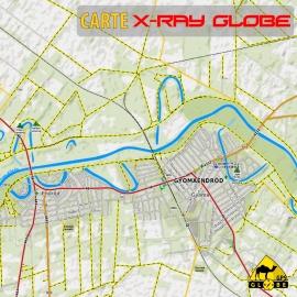 Ungarn - X-Ray Globe - 1 : 30 000 TOPO
