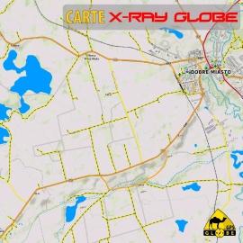Polen - X-Ray Globe - 1 : 30 000 TOPO