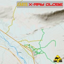 Island - X-Ray Globe - 1 : 30 000 TOPO