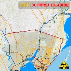 Mosambik - X-Ray Globe - 1 : 100 000 TOPO
