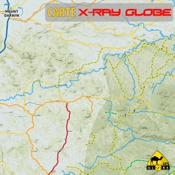 Simbabwe - X-Ray Globe - 1 : 100 000 TOPO