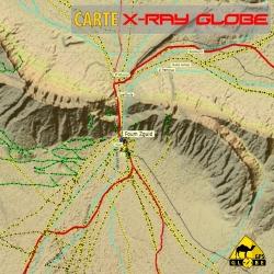 Sambia - X-Ray Globe - 1 : 100 000 TOPO
