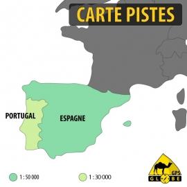Iberische Halbinsel Kartenpaket